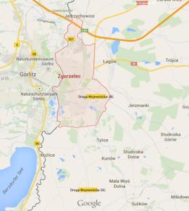 Tylice map