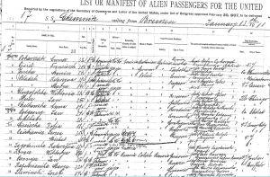 1912 Ellis Island Marya Kapuscinska