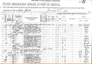 1912 Ellis Island Marya Kapuscinska1
