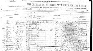 1913 Ellis Island Jozefa Kapuscinska