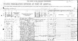 1913 Ellis Island Jozefa Kapuscinska1