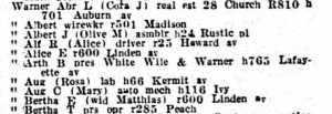 1931 Warner AugCMary and LouisMartha city directory (2)