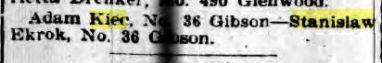1914 Kiec Skrok Buffalo Courier