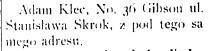 1914 Kiec Skrok Dziennik