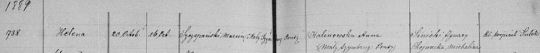 1889 Helena Szczepanska StStan-Baptism-cropped