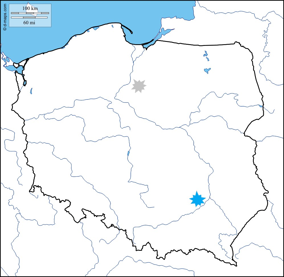 Poland ancestral areas