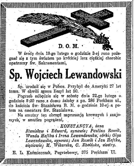 1930 Lewandowski Dziennik dla wszystkich = Polish everybody's daily volume (Buffalo, N Y ) 1907-1957, February 20, 193[...]