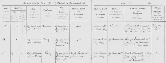 1862 Niewirowski birth