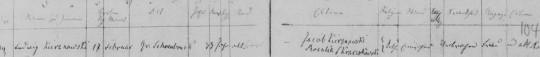 1869 Kierznowski death