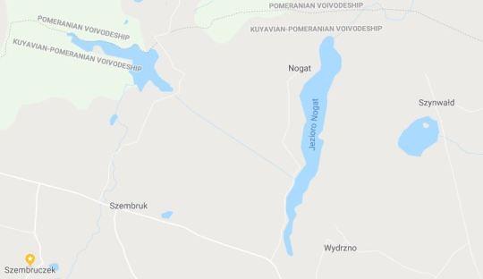 Szombruk Szynwald map