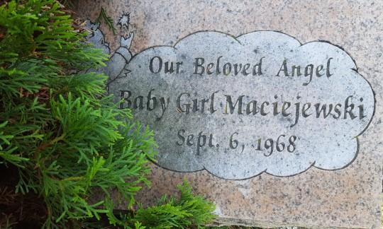 1968 Baby Girl Maciejewski