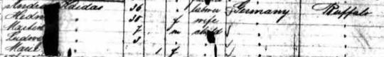 1888 ship manifest Kaidas cropped