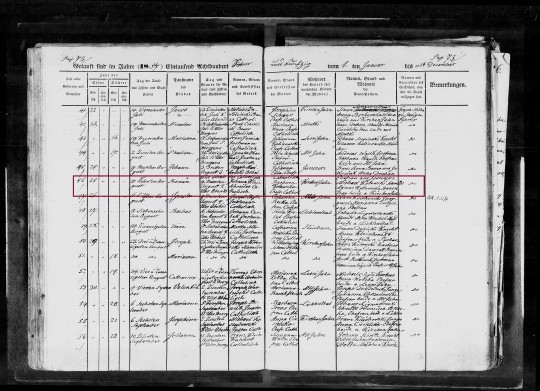 1857 Roman Klein marked